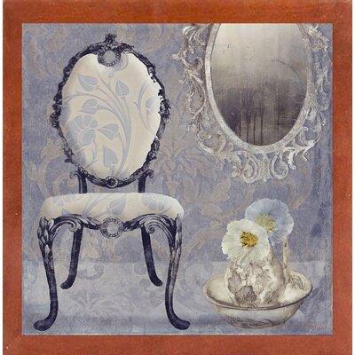'Salon II' Graphic Art Print Format: Affordable Canadian Walnut Medium Framed Paper