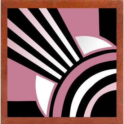 'Daring Deco I' Graphic Art Print Format: Canadian Walnut Medium Framed