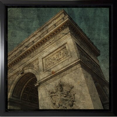 'Triomphe II' Graphic Art Print Format: Budget Saver Framed Paper, Size: 6