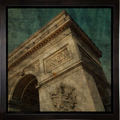 'Triomphe II' Graphic Art Print Format: Cafe Espresso Framed Paper, Size: 6