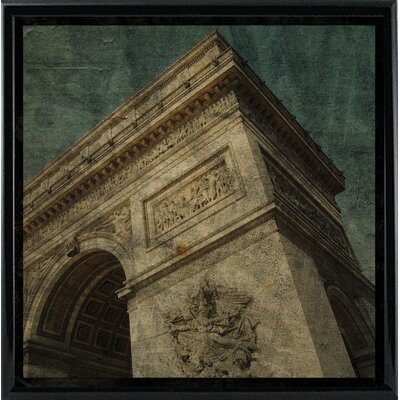 'Triomphe II' Graphic Art Print Format: Black Metal Framed Paper, Size: 6