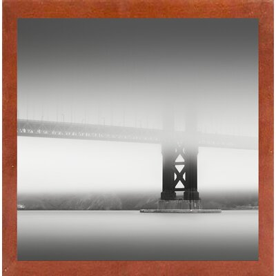 'Golden Gate' Photographic Print Format: Canadian Walnut Medium Framed
