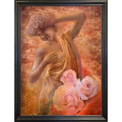 'Pearl' Graphic Art Print Format: Black Grande Framed