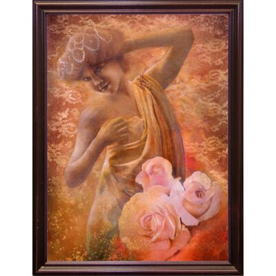'Pearl' Graphic Art Print Format: Cherry Grande Framed
