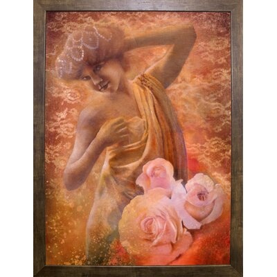 'Pearl' Graphic Art Print Format: Cafe Mocha Framed