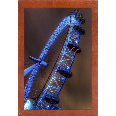 '22' Photographic Print Format: Canadian Walnut Wood Medium Framed Paper