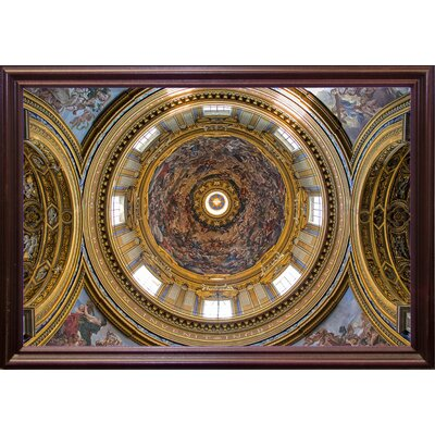 'Over My Head' Photographic Print Format: Cherry Wood Grande Framed Paper