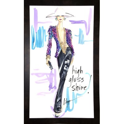 'High Gloss Shine' Print Format: Black Wood Medium Framed Paper ESUM1358 43184536