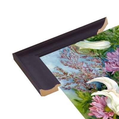 'Lilies And Asters' Print Format: Paper