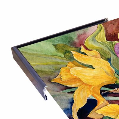 'Tulips And Daffodils' Print Format: Paper