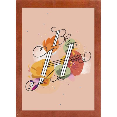 'The Reminder' Graphic Art Print Format: Affordable Canadian Walnut Medium Framed Paper