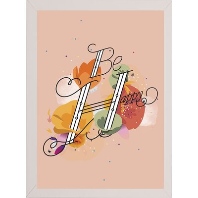 'The Reminder' Graphic Art Print Format: Affordable White Medium Framed Paper