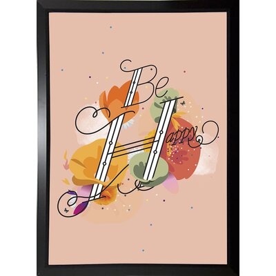 'The Reminder' Graphic Art Print Format: Budget Saver Framed Paper