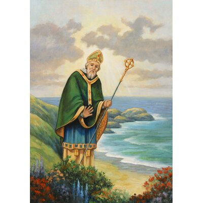 'St. Patrick' Graphic Art Print Format: Paper