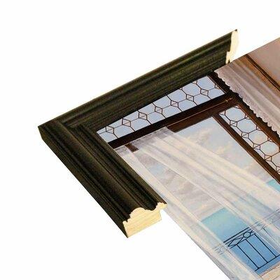 'Seabreeze' Graphic Art Print Format: Black Wood Grande Framed Paper