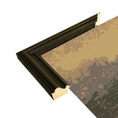 'Mona Liza' Graphic Art Print Format: Black Wood Grande Framed Paper