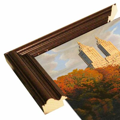 'Autumn in Central Park' Print Format: Cherry Wood Grande Framed Paper