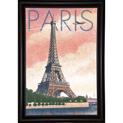 '50526' Graphic Art Print Format: Bistro Expresso Framed Paper