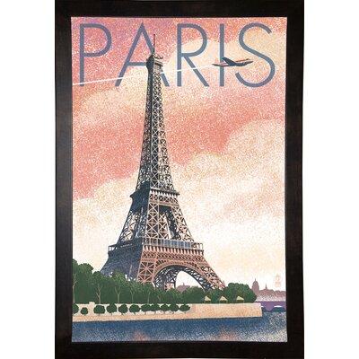 '50526' Graphic Art Print Format: Cafe Espresso Wood Framed Paper