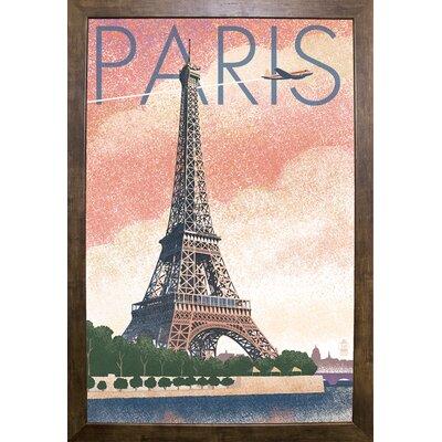 '50526' Graphic Art Print Format: Cafe Mocha Framed Paper