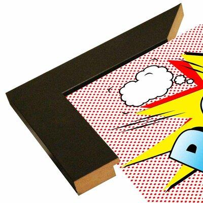 'Pow 2' Graphic Art Print Format: Paper, Size: 18.25