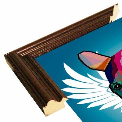 'Wpap Horse 2' Graphic Art Print Format: Cherry Grande Framed Paper, Size: 21.5