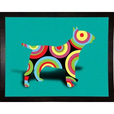 '12860992' Graphic Art Print Format: Affordable Black Medium Framed Paper, Size: 23.25