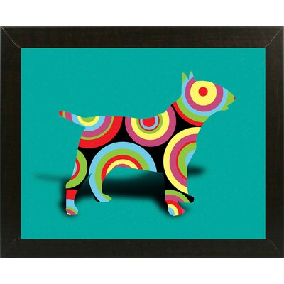 '12860992' Graphic Art Print Format: Affordable Brazilian Walnut Medium Framed Paper, Size: 23.25