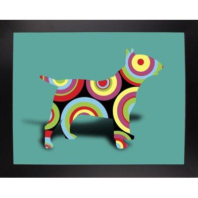 '12860992' Graphic Art Print Format: Affordable Black Large Framed Paper, Size: 23.25