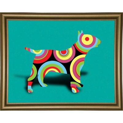 '12860992' Graphic Art Print Format: Bistro Gold Framed Paper, Size: 23.25