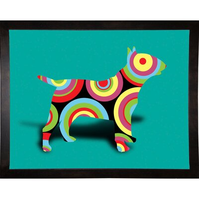'12860992' Graphic Art Print Format: Cafe Espresso Framed Paper, Size: 23.25