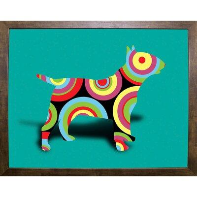 '12860992' Graphic Art Print Format: Cafe Mocha Framed Paper, Size: 23.25