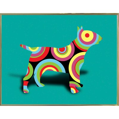 '12860992' Graphic Art Print Format: Gold Metal Framed Paper, Size: 23.25