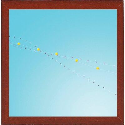'Balloon Chain 2' Graphic Art Print Format: Red Mahogany Medium Framed Paper, Size: 10