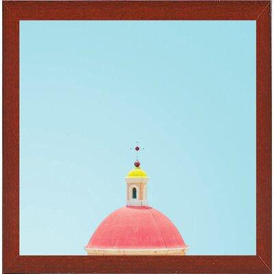 'Chapel' Graphic Art Print Format: Red Mahogany Medium Framed Paper, Size: 11.5