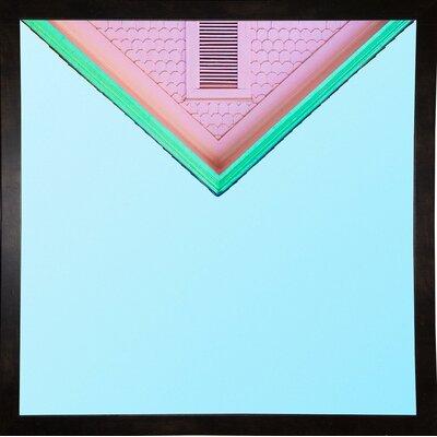 'Candygram' Graphic Art Print Format: Black Medium Framed Paper, Size: 14.25