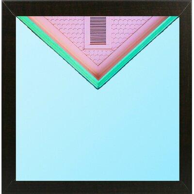 'Candygram' Graphic Art Print Format: Brazilian Walnut Medium Framed Paper, Size: 14.25