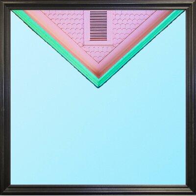 'Candygram' Graphic Art Print Format: Black Grande Framed Paper, Size: 14.25