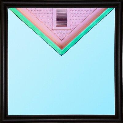 'Candygram' Graphic Art Print Format: Bistro Espresso Framed Paper, Size: 14.25