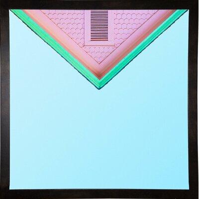 'Candygram' Graphic Art Print Format: Cafe Espresso Framed Paper, Size: 14.25