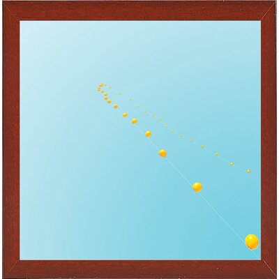 'Balloon Chain 1' Photographic Print Format: Red Mahogany Medium Framed Paper, Size: 14.75