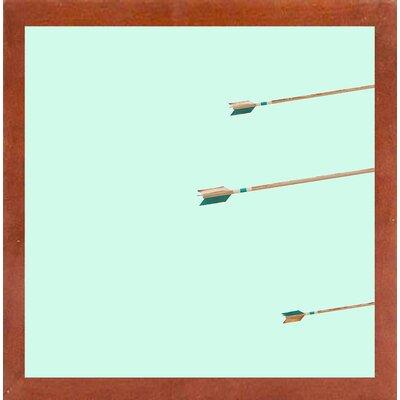 'Arrows of Pythagoras' Photographic Print Format: Canadian Walnut Medium Framed Paper, Size: 17.25