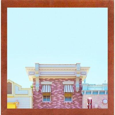 'Candy Shops' Graphic Art Print Format: Canadian Walnut Medium Framed Paper, Size: 17.25
