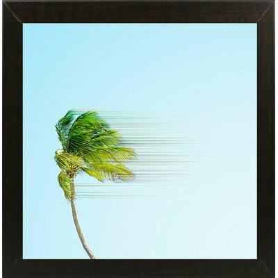 'Disintegrate' Graphic Art Print Format: Brazilian Walnut Medium Framed Paper, Size: 8.25