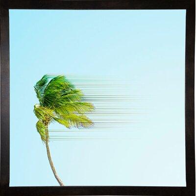 'Disintegrate' Graphic Art Print Format: Cafe Espresso Framed Paper, Size: 8.25