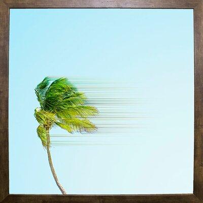 'Disintegrate' Graphic Art Print Format: Cafe Mocha Framed Paper, Size: 8.25