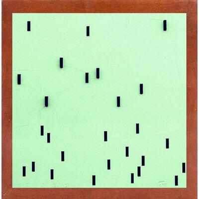 'DNA' Graphic Art Print Format: Canadian Walnut Medium Framed Paper, Size: 8.5