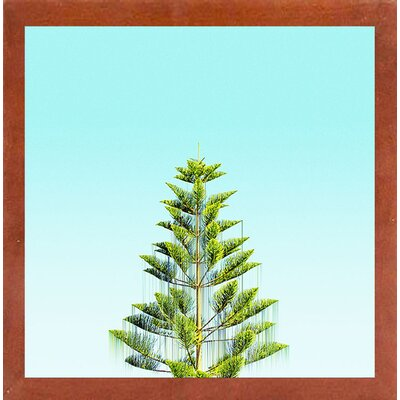 'Branch Out' Graphic Art Print Format: Canadian Walnut Medium Framed Paper, Size: 9.25