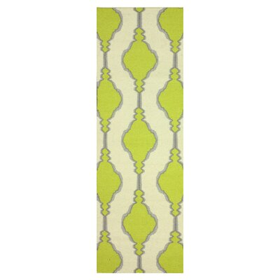 Moderna Green Lana Area Rug Rug Size: Runner 26 x 8