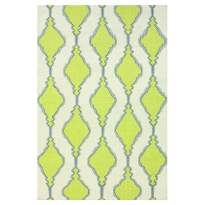 Moderna Green Lana Area Rug Rug Size: 86 x 116